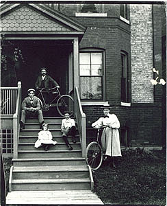 A Pullman Family, mid 1890s