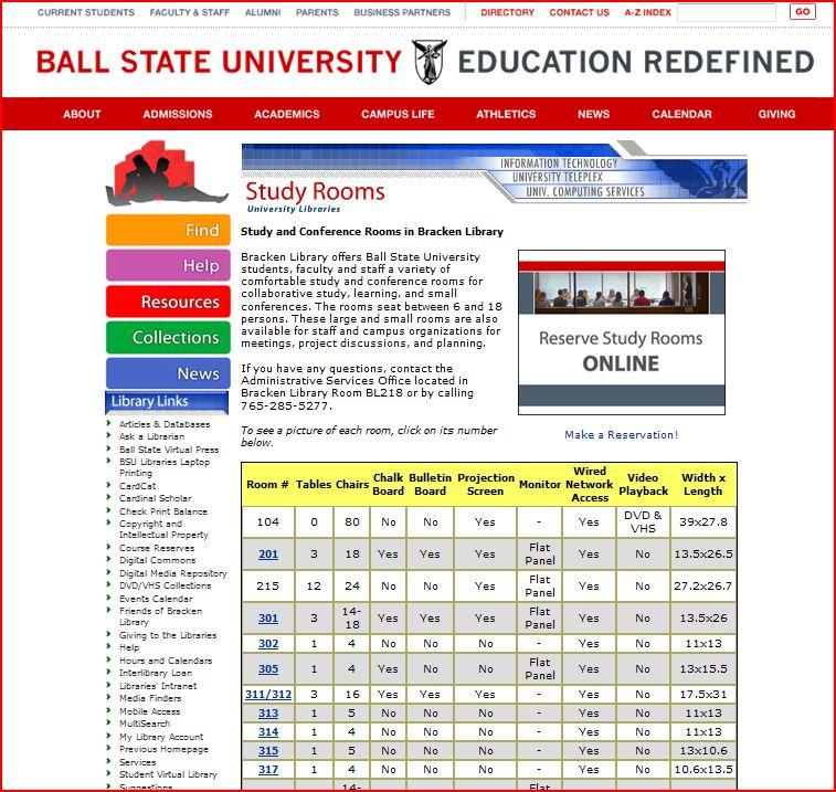 Room Reservation Scheduler Bergen Rutgers