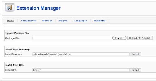 Joomla Software Framework