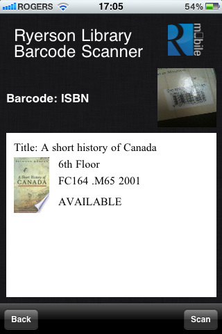 The Code4Lib Journal – ISBN and QR Barcode Scanning Mobile