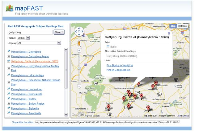 The Code4Lib Journal – mapFAST: A FAST Geographic Authorities Mashup