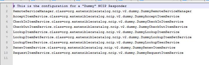 Figure 8. driver_config.properties file