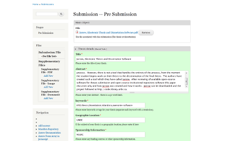 An image showing a submission.