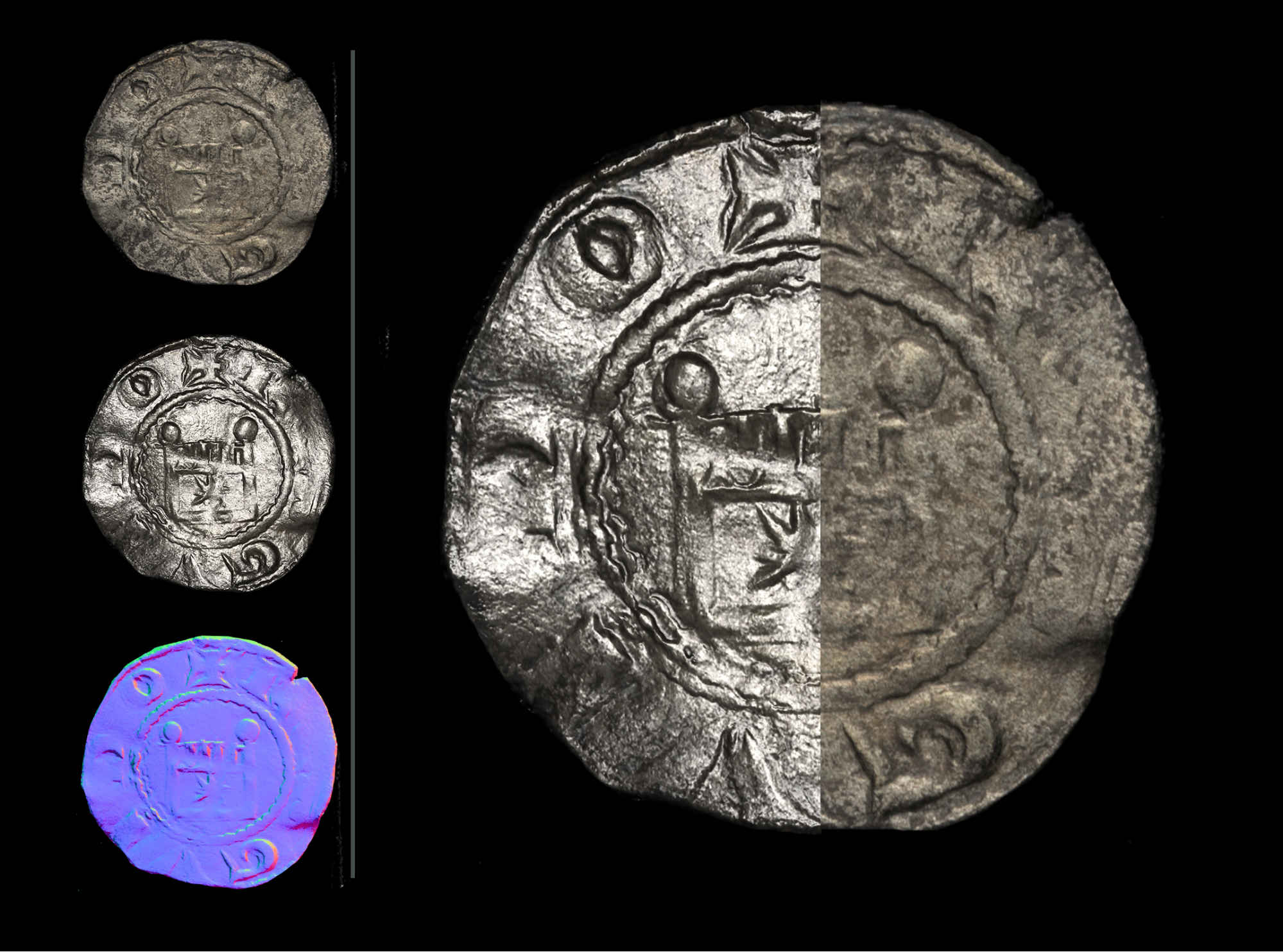Medieval coins from the Bank of Cyprus Cultural Foundation collection