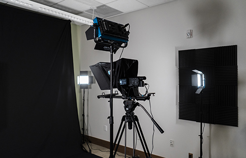 Initial equipment setup of the Tree of Hippocrates Education Studio