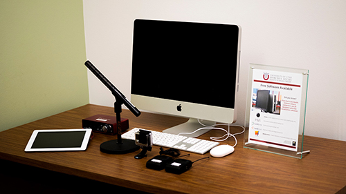 Initial equipment for the Multimedia Design and Innovation Lab