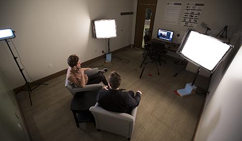 The Media Design & Innovation Lab pictured in December 2017.