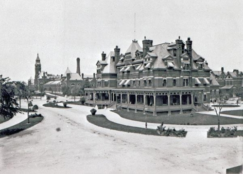 The Hotel Florence, ca. 1885