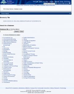 Database Locator pre-Drupal instance