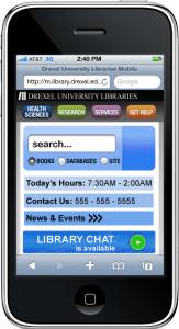 Finalized design mockups for mobile-optimized website pages