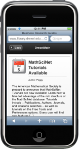 Figure 14: Mobile-optimized WordPress blog homepage and single post