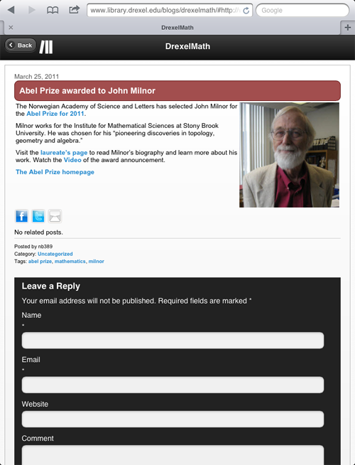 The Code4Lib Journal - Creating a Seamless Cross-Platform Online Experience for ...