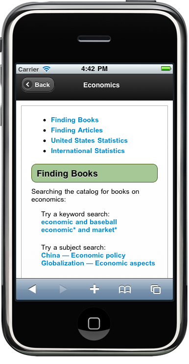 The Code4Lib Journal - Creating a Seamless Cross-Platform Online Experience for Mobile Users